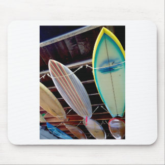 Surfboards Mouse Pad