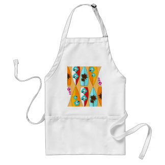 Surfboards on the Boardwalk Summer Beach Theme Adult Apron