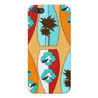 Surfboards on the Boardwalk Summer Beach Theme iPhone SE/5/5s Case