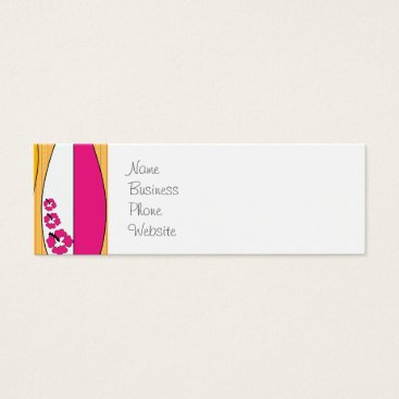 Professional Business Surfboards on the Boardwalk Summer Beach Theme Mini Business Card
