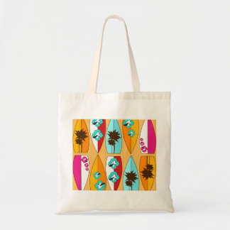 Surfboards on the Boardwalk Summer Beach Theme Tote Bag