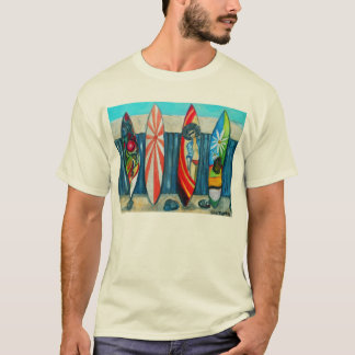 Surfboards Painting T-Shirt