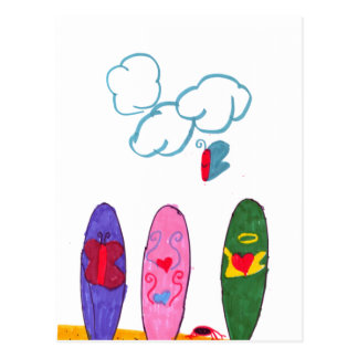 Surfboards Postcard