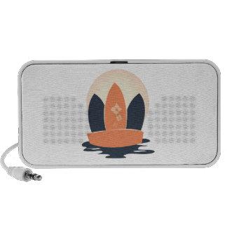 Surfboards Laptop Speaker
