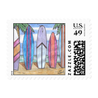 SURFBOARDS stamps