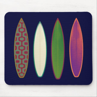 surfboards / surfing style mouse pad