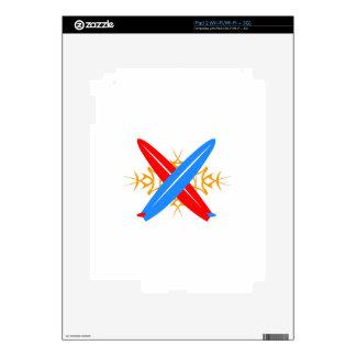 Surfbords iPad 2 Skins