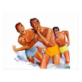 Surfboys Post Card