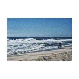 Surfcaster 2 canvas print