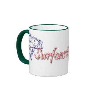 Surfcaster.com en línea taza de dos colores