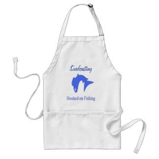 Surfcasting Hooked On Fishing Adult Apron