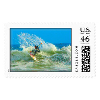 Surfed Out Stamp