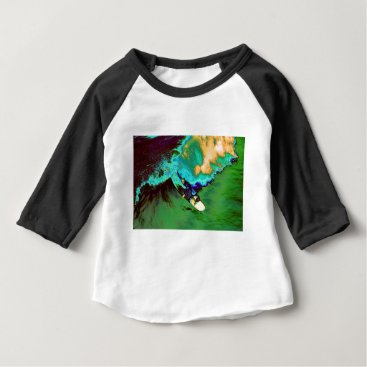 USA Themed Surfer2 Baby T-Shirt