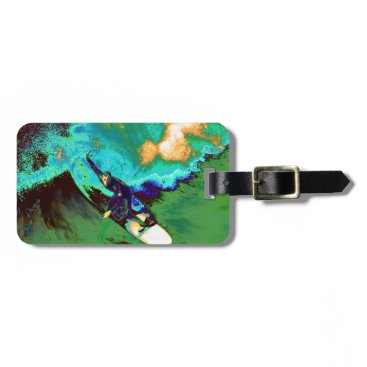 USA Themed Surfer2 Bag Tag