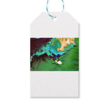 USA Themed Surfer2 Gift Tags