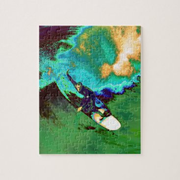 USA Themed Surfer2 Jigsaw Puzzle