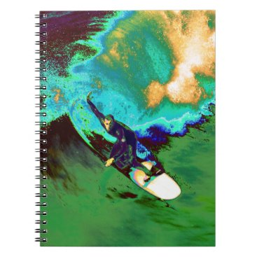 USA Themed Surfer2 Notebook