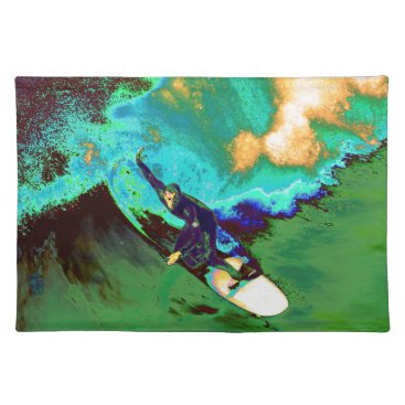 USA Themed Surfer2 Placemat
