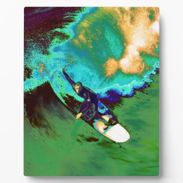 USA Themed Surfer2 Plaque