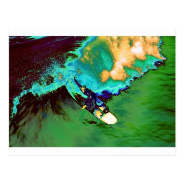 USA Themed Surfer2 Postcard