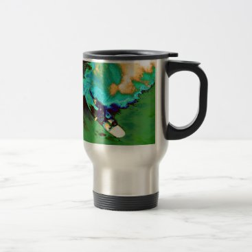 USA Themed Surfer2 Travel Mug