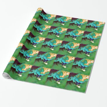 USA Themed Surfer2 Wrapping Paper