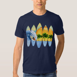 Surfer And Surfboards Shirt