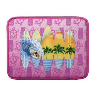 Surfer And Surfboards Sleeve For MacBook Air