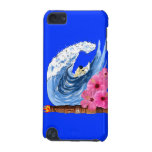 Surfer And Tiki Statue iPod Touch (5th Generation) Cover