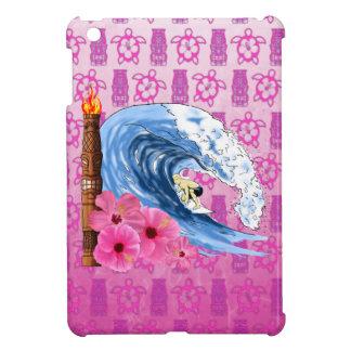 Surfer And Tiki Statue iPad Mini Covers
