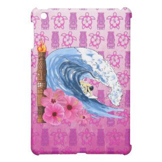 Surfer And Tiki Statue iPad Mini Case