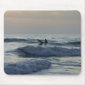 Surfer Awaits Mouse Pad