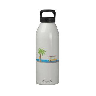 Surfer Beach Drinking Bottles