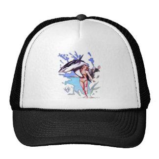 Surfer Beauty & Waves the beast Trucker Hat