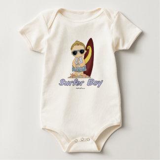 Surfer Boy Baby Bodysuit