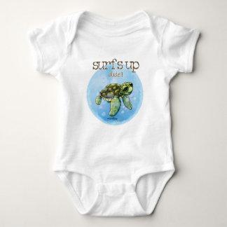 Surfer boy Seaturtle baby Baby Bodysuit
