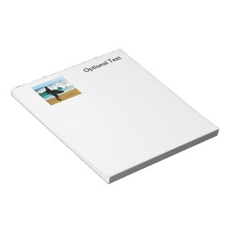 Surfer by a Crashing Tube Notepad