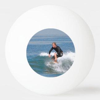 Surfer Carving Ping Pong Ball
