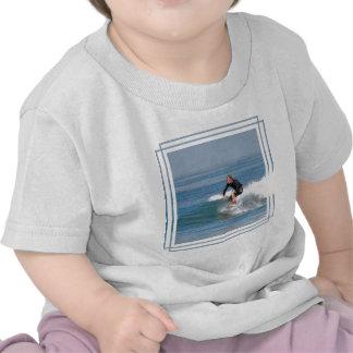 Surfer Carving Tee Shirt