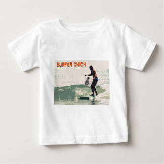 Surfer Chick Baby T-Shirt