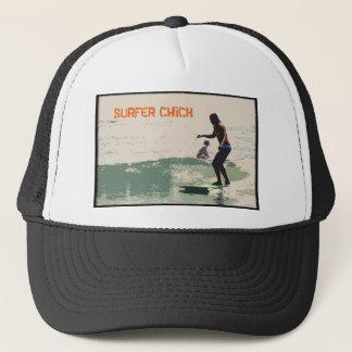Surfer Chick Trucker Hat