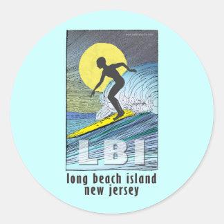Surfer... Classic Round Sticker