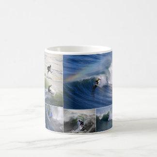 Surfer Collage Mug