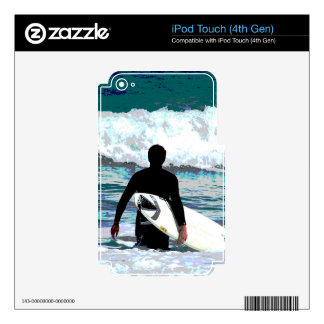 Surfer Design Decal For iPod Touch 4G