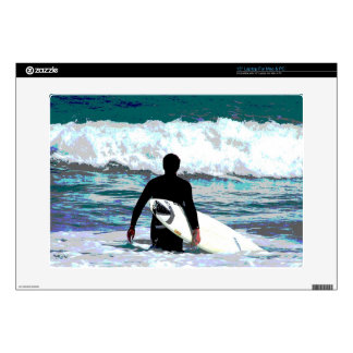 Surfer Design Decals For Laptops