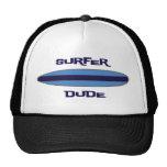 Surfer Dude Blue Trucker Hats
