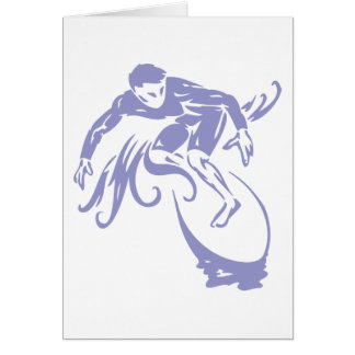 Surfer Dude Card