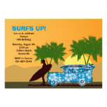 Surfer Dude Invitation