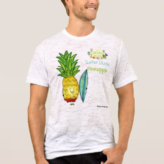 surfer-dude-pineapple-lbb-blog, disigned by pin... T-Shirt