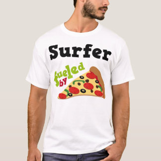 Surfer (Funny) Pizza T Shirt